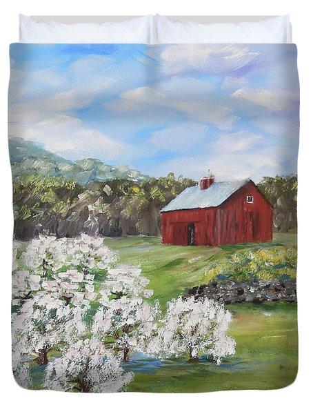 The Apple Farm Duvet Cover