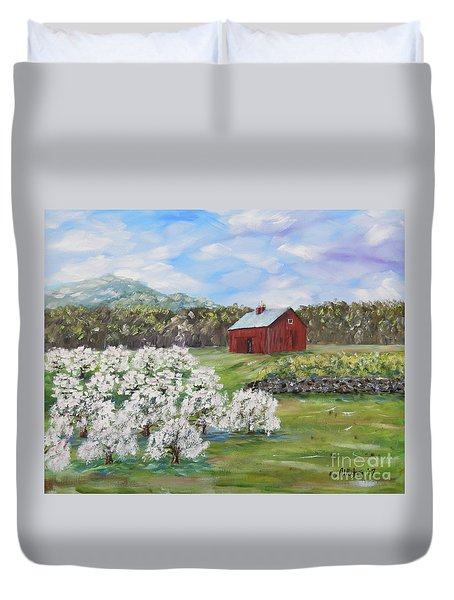 The Apple Farm Duvet Cover