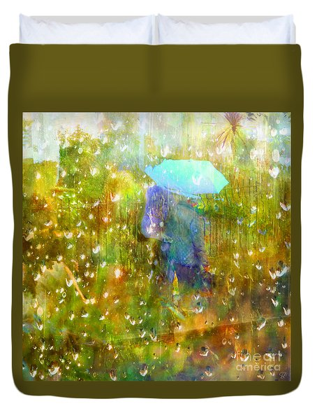 The Approach Of Autumn Duvet Cover