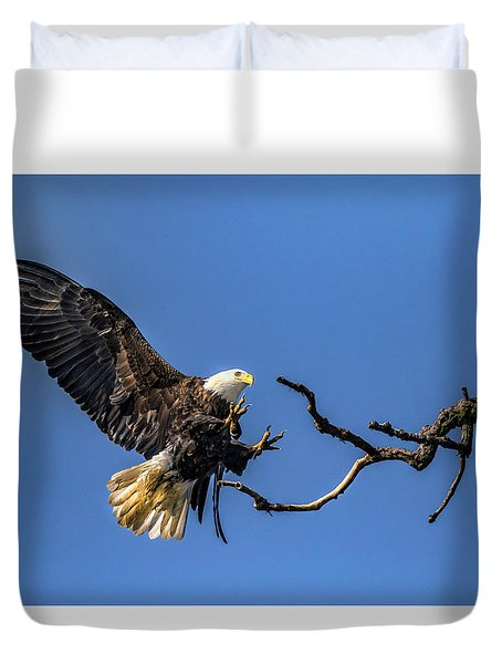 The Approach Duvet Cover