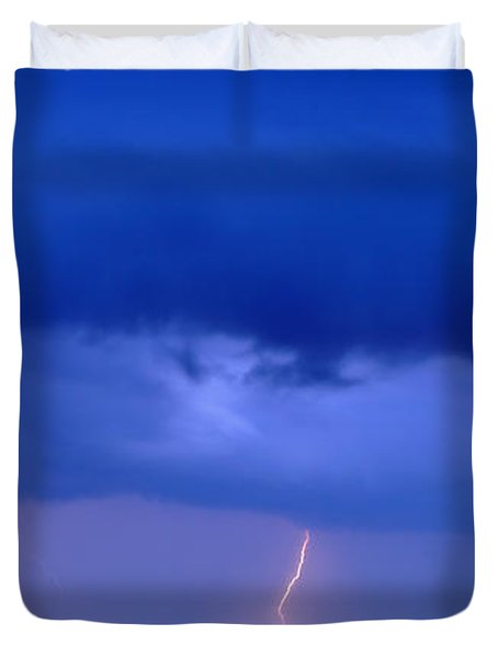 The Approching Storm Duvet Cover