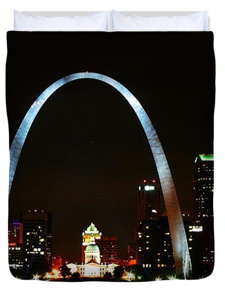 The Arch Duvet Cover by Anthony Jones
