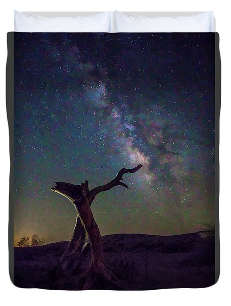 The Archer Duvet Cover by Peter Tellone