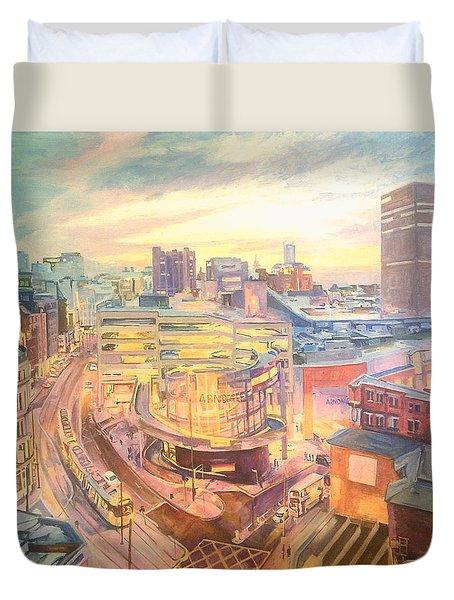 The Arndale Carpark, Manchester Duvet Cover