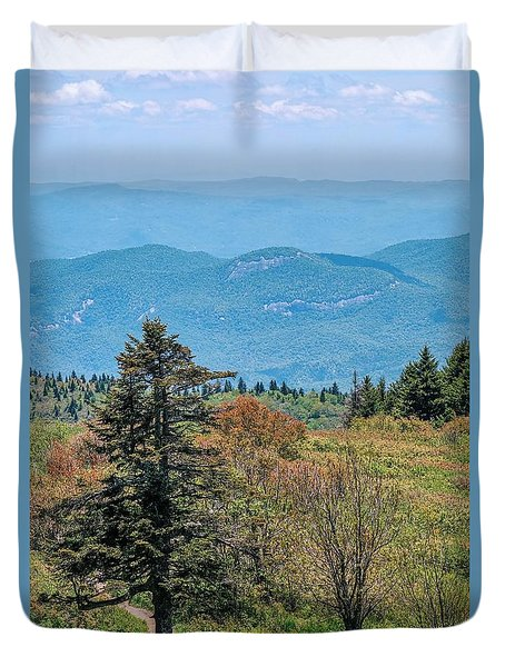 The Art Loeb Trail Duvet Cover