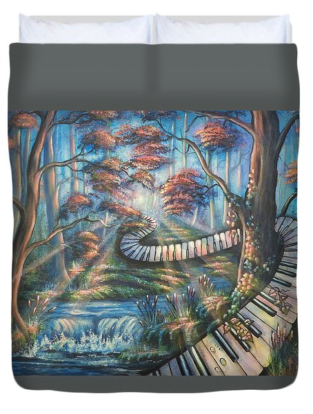 The Art Of Composition Duvet Cover
