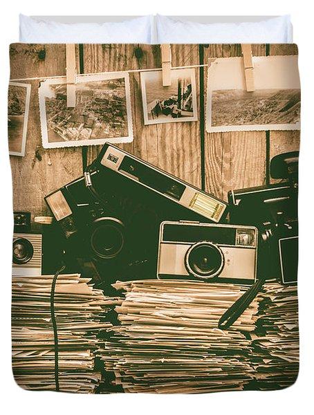 The Art Of Film Photography Duvet Cover