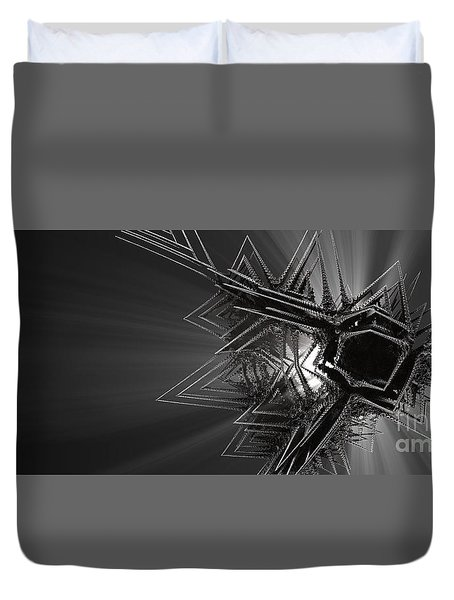 The Art Of Jack Frost Duvet Cover
