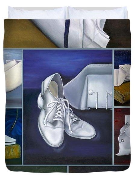 The Art Of Nursing Duvet Cover by Marlyn Boyd