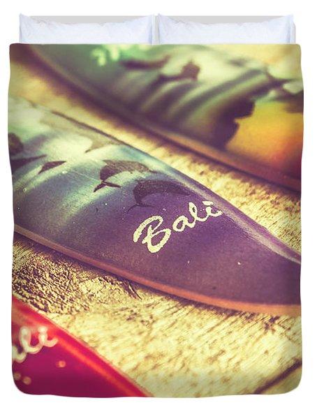 The Art Of Surf Duvet Cover