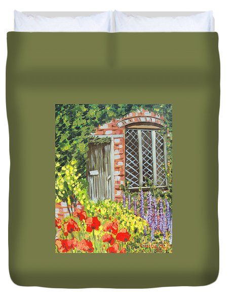 The Artist's Cottage Duvet Cover