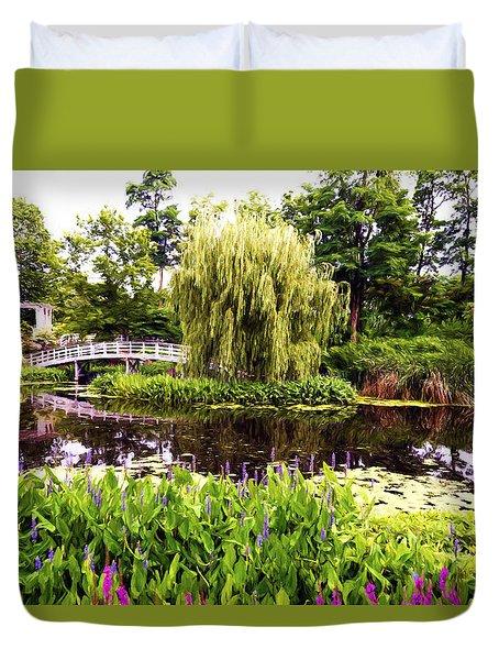 The Artists Garden Duvet Cover