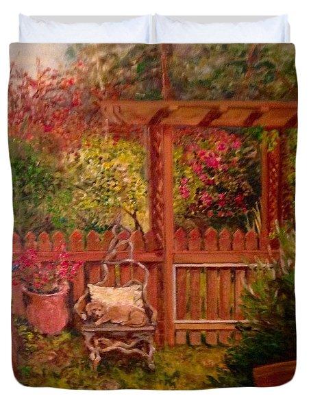 The Artist's Garden Duvet Cover
