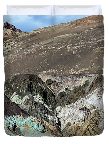 The Artists Palette Death Valley National Park Duvet Cover