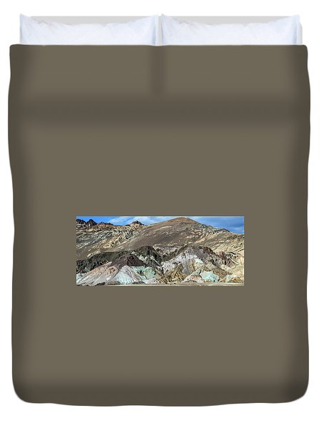 The Artists Palette Death Valley National Park Duvet Cover