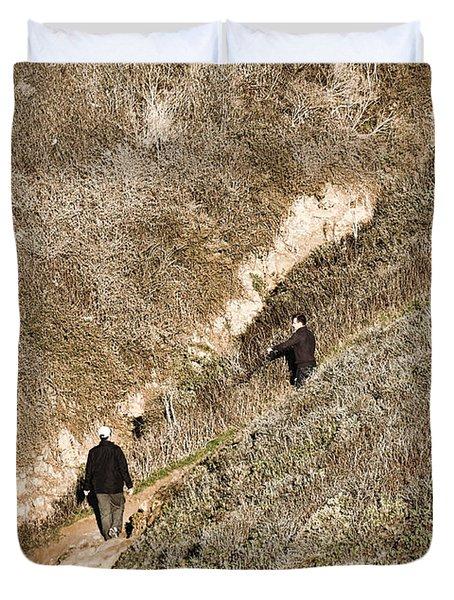 The Ascent Duvet Cover