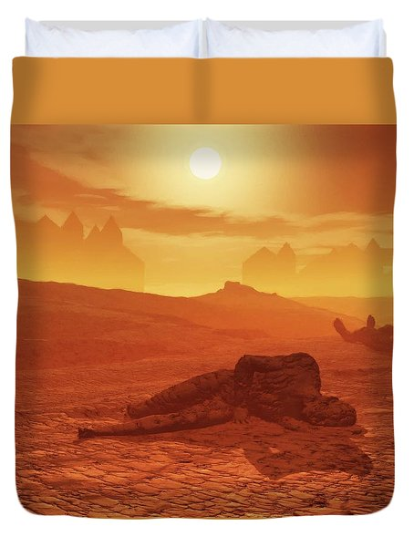 The Ash Vessels Duvet Cover