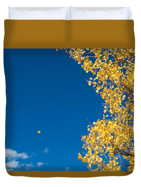 The Aspen Leaf Duvet Cover