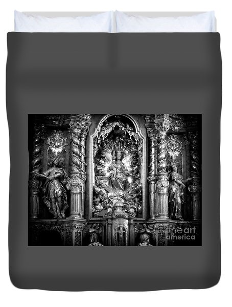 The Assumption Of Mary Pilgrimage Church Duvet Cover