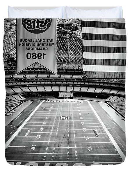 The Astrodome Duvet Cover