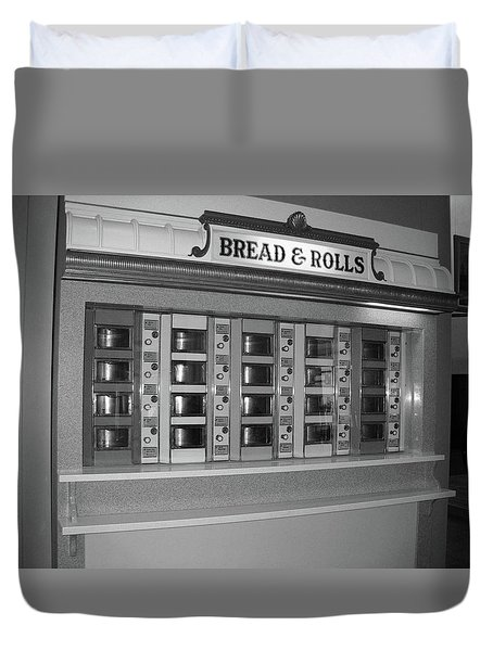The Automat Duvet Cover