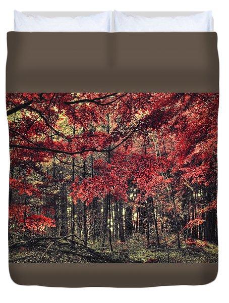 The Autumn Colors Duvet Cover