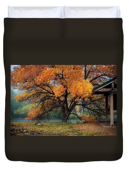 The Autumn Tree Duvet Cover