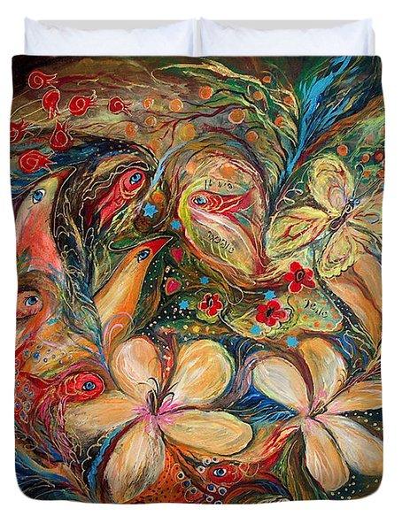 The Autumn Wind Duvet Cover by Elena Kotliarker