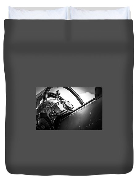 The Aviator Duvet Cover