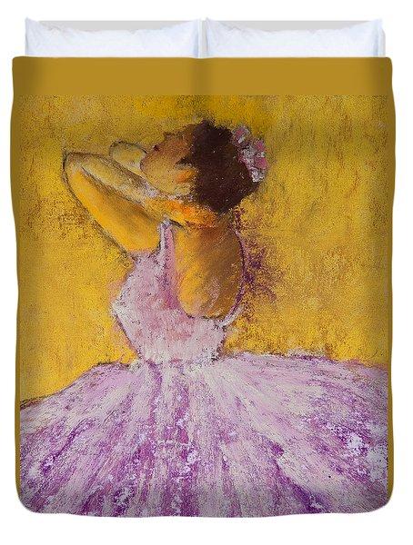 The Ballet Dancer Duvet Cover by David Patterson