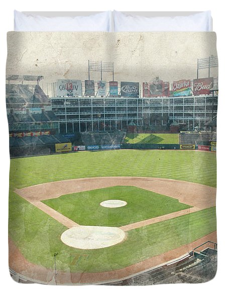The Ballpark Duvet Cover