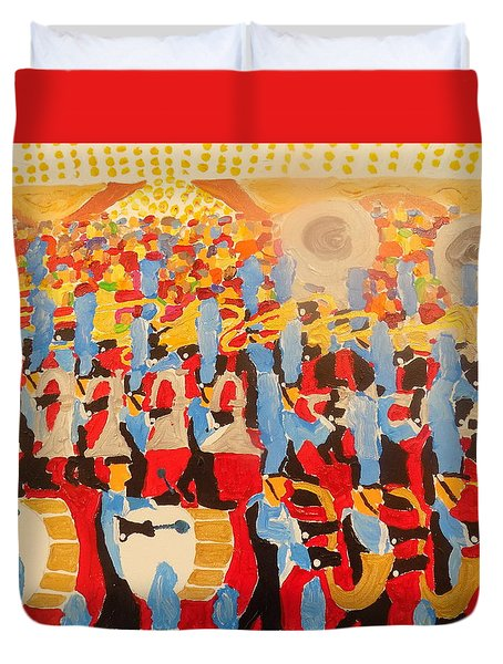 The Band Duvet Cover