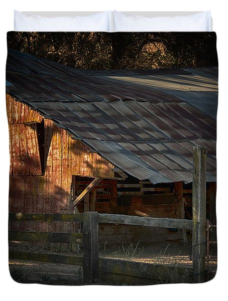 The Barn Duvet Cover