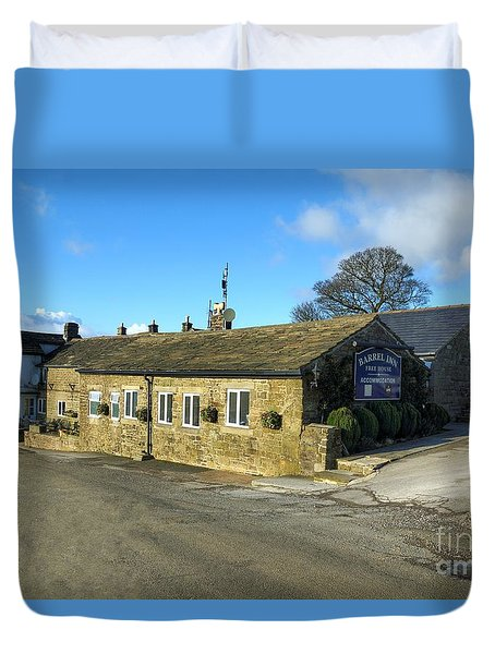 The Barrel Inn At Bretton Duvet Cover