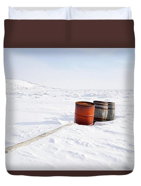 The Barrels Duvet Cover