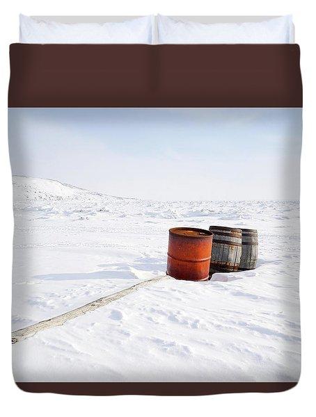 The Barrels Duvet Cover