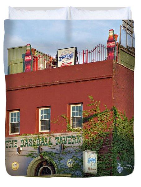 The Baseball Tavern Boston Massachusetts  -30948 Duvet Cover