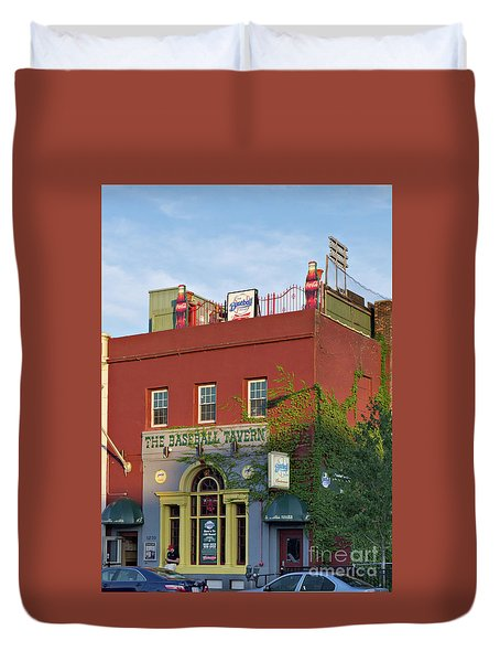 The Baseball Tavern Boston Massachusetts  -30948 Duvet Cover