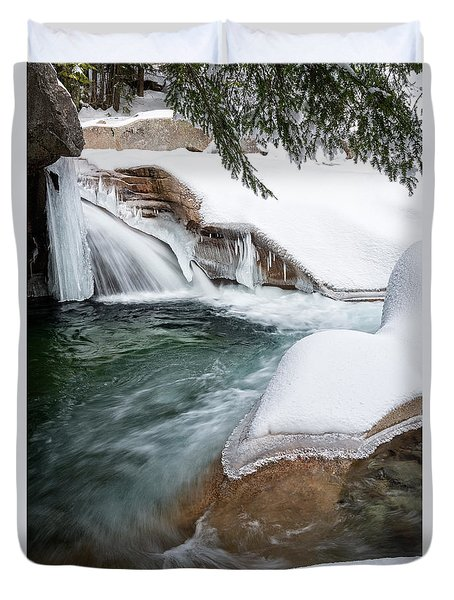 The Basin Side View Nh Duvet Cover