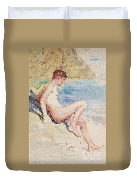 The Bather, 1910 Duvet Cover