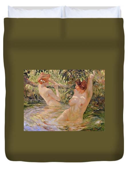 The Bathers Duvet Cover