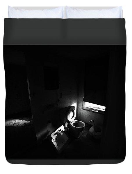 The Bathroom Duvet Cover
