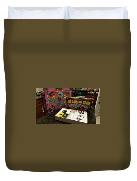 The Batman Game Duvet Cover