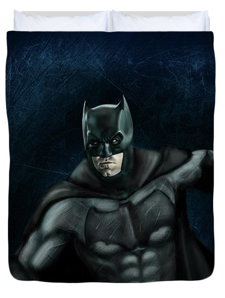 The Batman Duvet Cover