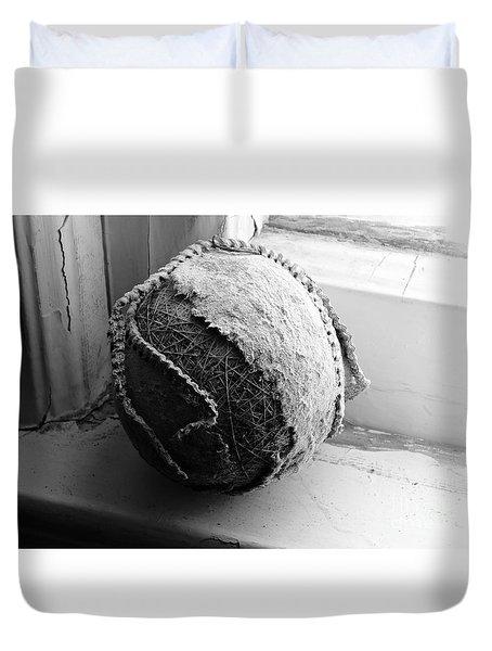 The Battered Baseball Duvet Cover