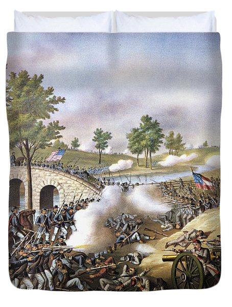 The Battle Of Antietam, Duvet Cover