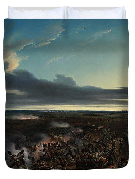 The Battle Of Montmirail Duvet Cover
