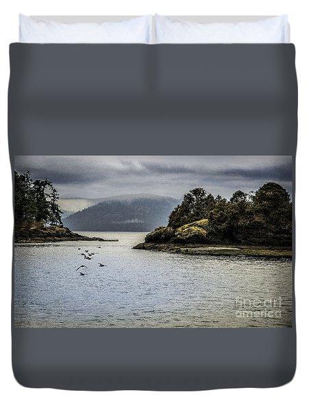 The Bay Duvet Cover