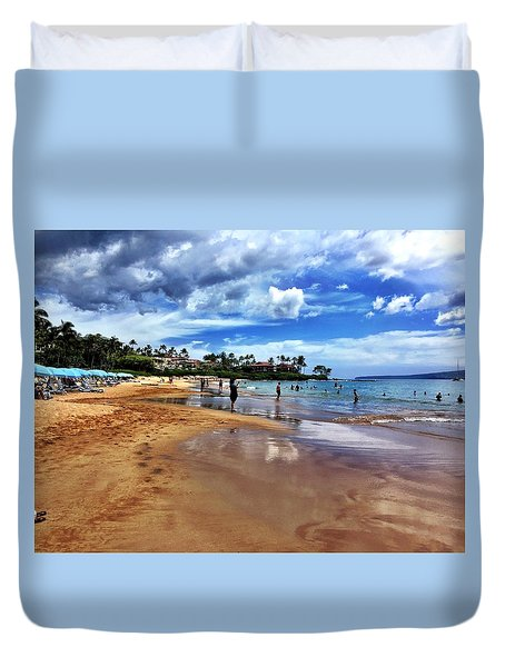 The Beach 2 Duvet Cover