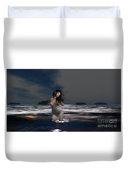 The Beach 5 Duvet Cover